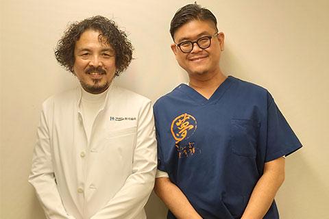 医学博士百合口 稔博士